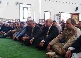 محافظ البحر الأحمر يفتتح مسجد الرحمن الرحيم في الغردقة