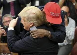 كاني ويست داخل البيت الأبيض: ترامب في رحلة البطل.. quotأنا أحب هذا الرجلquot