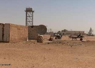 إنشاء مصدات رياح لوقف حركة الكثبان الرملية في بعض قرى الوادي الجديد