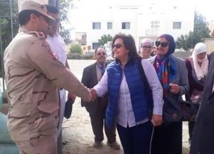 نائب وزير الزراعة عقب مشاركتها بالاستفتاء: رسالة للعالم