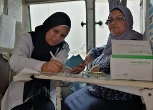 صور.. 161 منتفعة والكشف على 95 حالة بقافلة الصحة الإنجابية في سفاجا