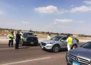 """""""المرور"""" تشن حملات بالرادار على الطرق السريعة بسبب إجازات الصيف"""