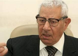 مكرم محمد أحمد: العريش ورفح أصبحتا آمنتين