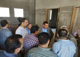 محافظ البحيرة يتفقد مبنى السجل المدني الجديد بمركز شرطة رشيد