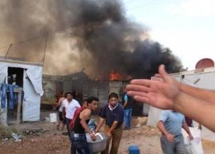 التحقيق في حادث حريق بمخيم لاجئين على جزيرة ليسبوس اليونانية