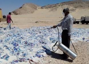 إعدام 28 طن أرز غير صالح للاستخدام بسوهاج