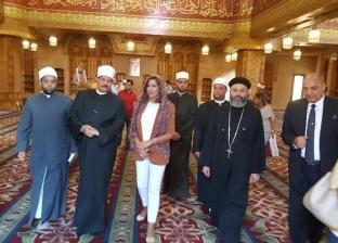 بالصور| وزيرة الهجرة تتفقد مسجد الصحابة بشرم الشيخ