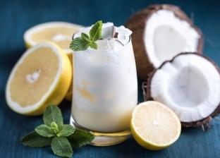 منها جوز الهند والشاي المثلج.. 5 مشروبات للتغلب على الطقس الحار