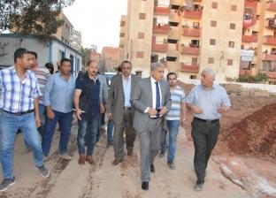 محافظ المنيا يتابع الأعمال الإنشائية لمدينة العمال بتكلفة 77 مليون