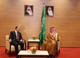 وزير الداخلية يناقش مع نظيره السعودي سبل التصدي للتنظيمات الإرهابية