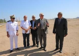 محافظ جنوب سيناء يتفقد مقر مجلس مدينة شرم الشيخ الجديد