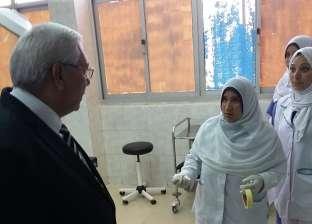 محافظ الدقهلية عن الخدمة بمستشفى شبراهور: ما رأيته رائع أتمنى استمراره