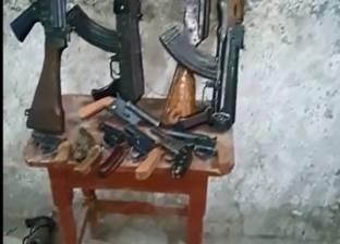 ضبط 5 متهمين بحوزتهم أسلحة نارية في الهرم