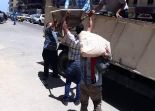 حي منتزه أول بالإسكندرية يشن حملة للتصدي إلى البناء المخالف