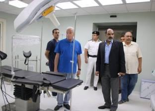 بالصور| تطوير مستشفى شرم الشيخ الدولي بـ100 مليون جنيه