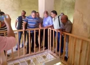 وزير الآثار: صان الحجر تحتاج إلى خدمات لوضعها على خريطة السياحة