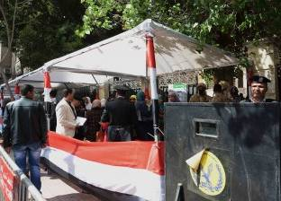 لجان قصر النيل تفتح أبوابها أمام المواطنين للتصويت على التعديلات