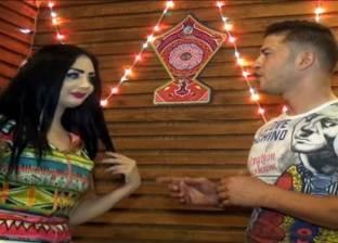 بالفيديو| إيمي سمير غانم تُقلد بطلة «ركبني المرجيحة»: انبهرت بصوتها