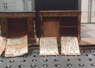 """إحباط محاولة إفريقي تهريب 88 ألف قرص مخدر داخل """"نيش"""" بمطار القاهرة"""