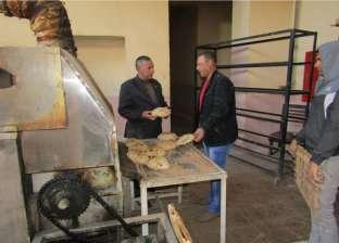 رئيس مدينة أبورديس يتفقد المخابز ويوجه بالالتزام بمواصفات الجودة
