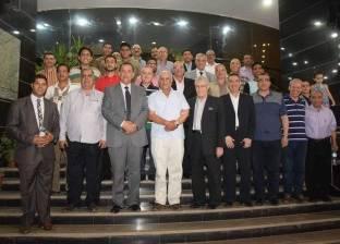 مجلس جامعة المنوفية يحضر إفطارا جماعيا نظمته كلية الزراعة