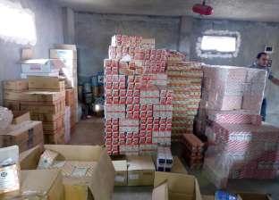 بالصور| ضبط 22 ألف و830 قطعة غيار سيارات مغشوشة في كفر الشيخ