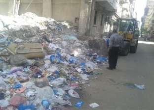 """""""وسط الإسكندرية"""" يرفع 67 طن مخلفات بنطاق الحي"""