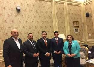 رئيس المنظمة المتحدة يلتقي أعضاء حقوق إنسان النواب