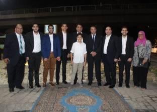 بالصور| اللواء محمد سالم يفتتح ميدان حدائق القبة بعد تجديده
