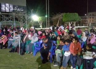 حفل ترفيهي للأطفال الأيتام بنادي المنيا الجديدة