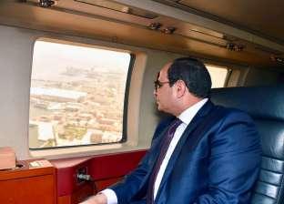 عاجل| السيسي يتفقد مشروعات تطوير ميناء الإسكندرية جوا
