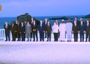 """الرئيس السيسي يشارك في """"قمة السبع"""" بفرنسا ويلتقي ماكرون وميركل"""