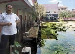 أكبر قرى بنى سويف تغرق فى «مياه الصرف»
