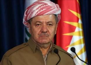 """""""بارزاني"""" يطلب من برلمان كردستان اتخاذ الإجراءات اللازمة لملء الفراغ"""