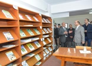 نائب رئيس جامعة أسيوط: المكتبات الجماعية ليست للقراءة فقط