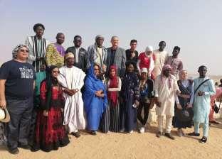 """""""أفرو أكت"""" تنظم حفل يوم الشباب الأفريقي بين أحضان الإهرامات والنيل"""