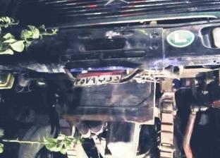 إصابة سائق في انقلاب سيارة محملة ببودرة السيراميك في المنصورة