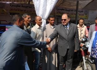 """محافظ الفيوم يفتتح الصوب الزراعية المنشأة بالتعاون مع """"الفاو"""" غدا"""