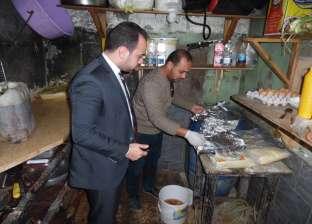 حملة مكبرة لمباحث التموين في مديرية أمن القاهرة