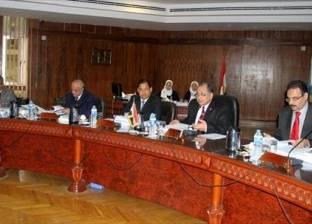 محافظ الغربية الجديد يشارك في مجلس جامعة طنطا