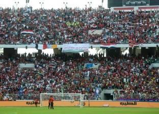 آلاف المشجعين يتوافدون على استاد برج العرب قبل مباراة الأهلي