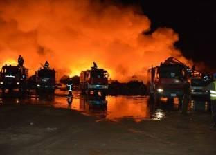 السيطرة على حريق مخزن أخشاب ببلبيس في الشرقية