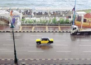 الأمطار الرعدية تواصل حصد الأرواح بالإسكندرية