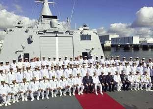 «الشبح».. قوة ردع جديدة تنضم لـ«البحرية المصرية».. وبناء 3 فرقاطات بـ«الإسكندرية»