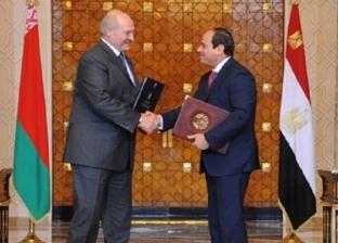الرئيس السيسي ونظيره البيلاروسي يشهدان توقيع عدد من الاتفاقيات