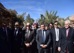 بالصور| وزير التنمية: تطوير دير سانت كاترين جانب من جوانب تنمية سيناء