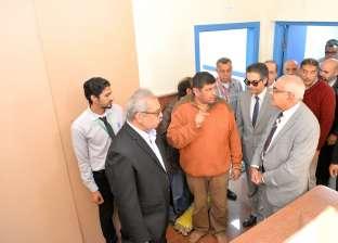 رئيس جامعة المنصورة يتفقد توسعات مركز جراحة الجهاز الهضمي