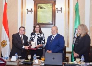"""""""الهجرة"""" تنظم زيارة لوفد """"موناش"""" الأسترالية إلى جامعة القاهرة"""