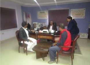 بالصور| رئيس مدينة أبورديس يبحث مشكلات عدد من المواطنين