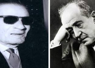 في ذكرى وفاة أحمد شوقي.. شاهد كيف انتقد طه حسين قصيدته عن الفراعنة